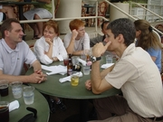KM4dev informal lunch