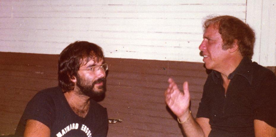 Peter w: Buddy Rich 1977