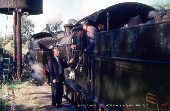 1963 LCGB Railtour at Byfield  (John Cosford)