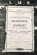 The Towcester - Banbury branch