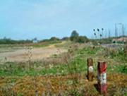 Towcester. Site of Olney branch junction