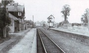 Towcester Station looking towards Blisworth