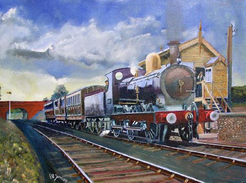 SMJ loco 16A at Cockley Brake
