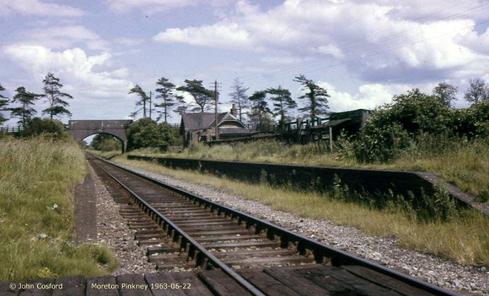 Mor(e)ton Pinkney in 1963. John Cosford