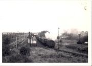 44.2 Sept 11 45454 shunts parcels at Blisworth SMJ station