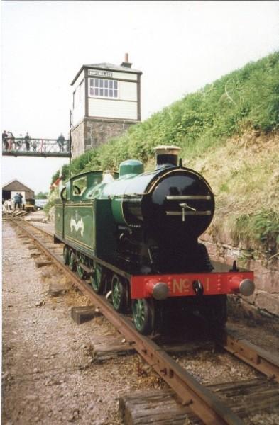 Blacolvesley - Blakesley Hall M R  loco owned by Dr Bob Tebb