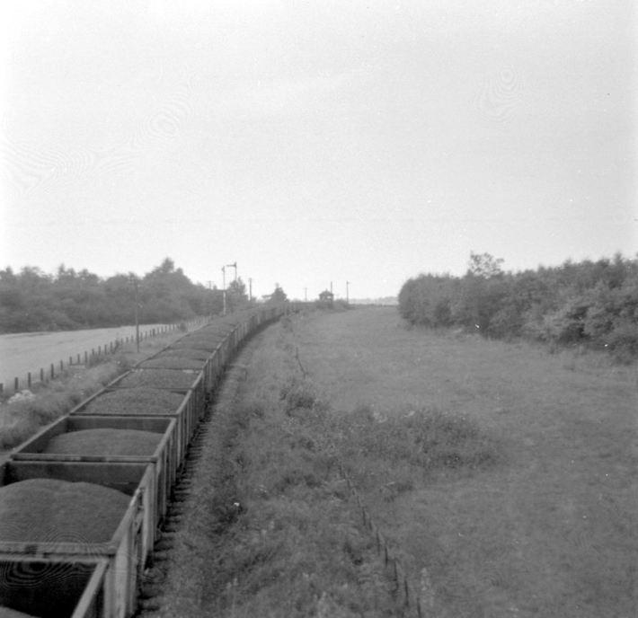 Ravenstone Wood Junction looking towards Northampton