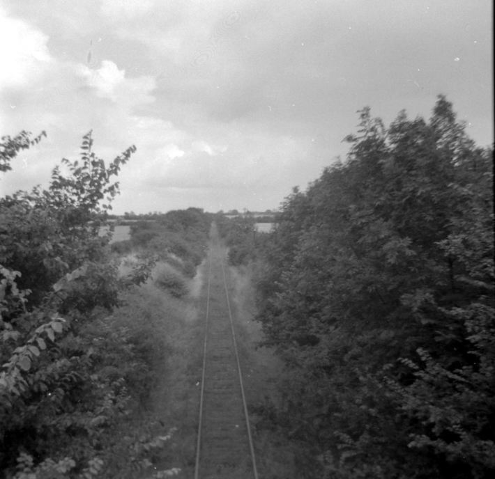 SMJ track from either Ashton or Hartwell road overbridges