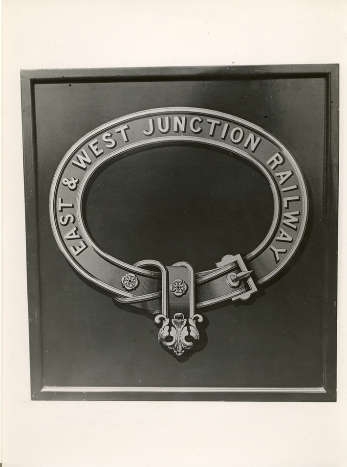 E & W Junc Rly Coat of Arms