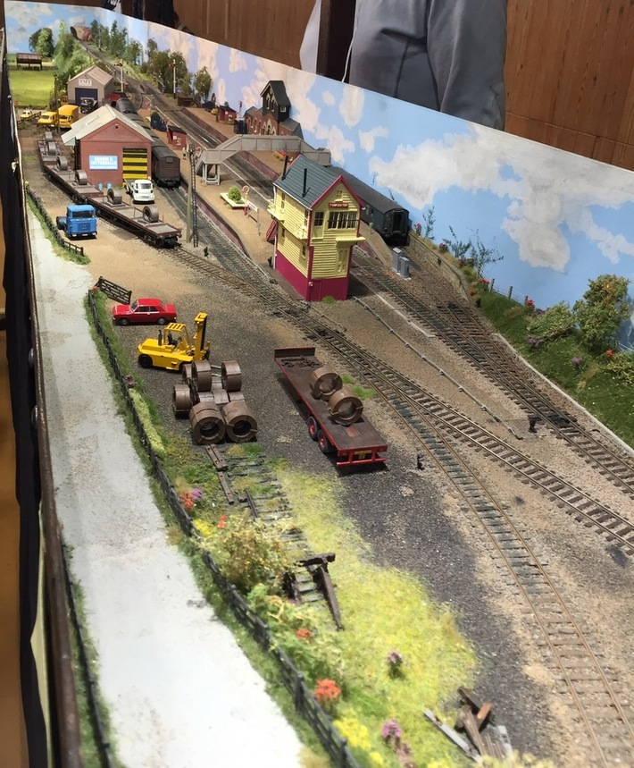 Towcester Station Model Railway Layout