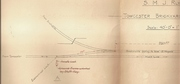 Towcester Brickworks siding diagram