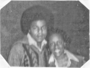 Tito Jackson and Delia Koen Smith