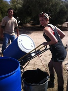 Barrels Back On the Truck