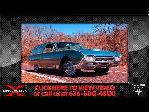 "1962 Ford Thunderbird ""Vista Bird"" Custom Wagon    For Sale"