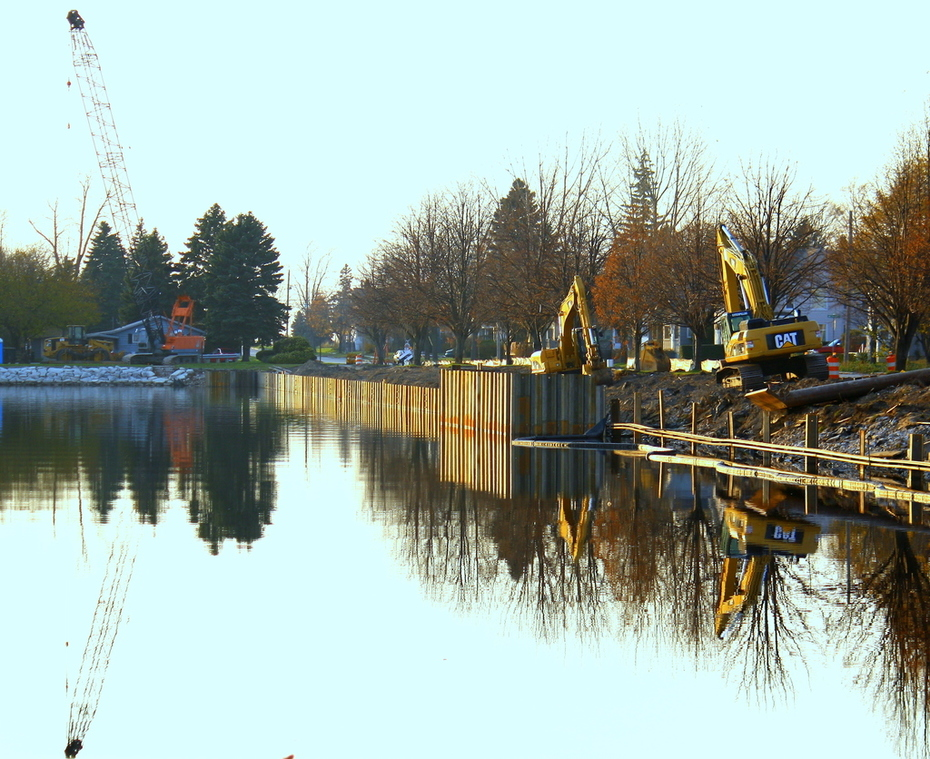 Ludington Michigan Marina Project - fall 09
