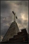 Father Pere Marquette memorial cross