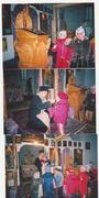 Vizita la biserica si impartasirea copiilor