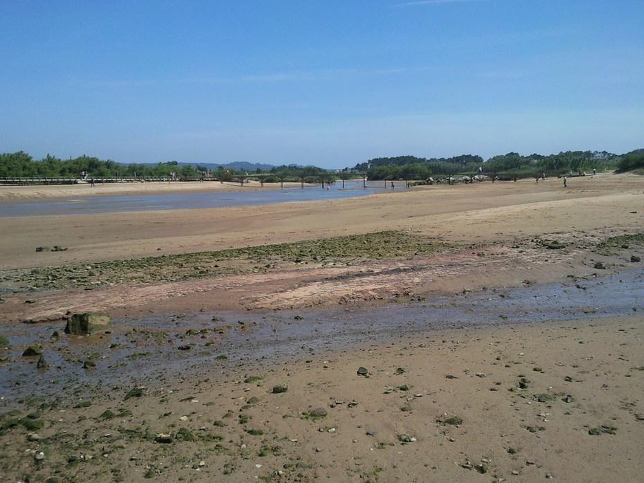 Praia, Salir do Porto