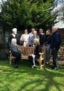 Stuart Sutcliffe's memorial bench