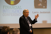 Larry Jeddeloh at the Financial Intelligence Conference