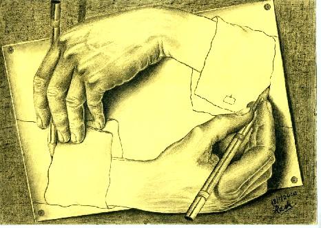 Escher's drawing