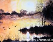 Misty Lake...Soman Patnaik