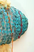 Fish sculpture close up