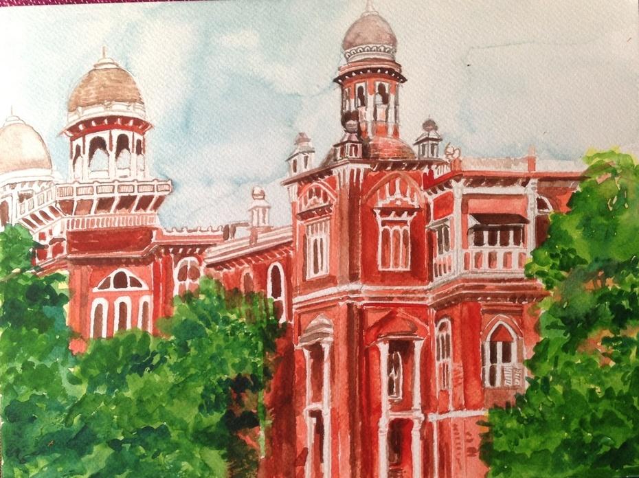State Bank Building, Chennai