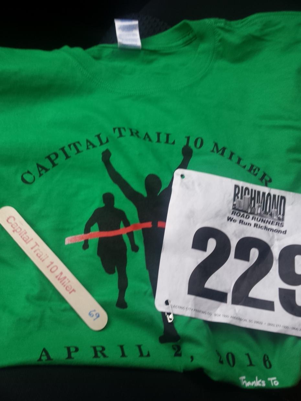 Capital Trail 10 Miler