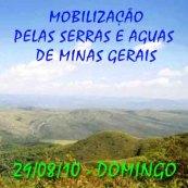 Mobilização pelas Serras E Aguas de Minas