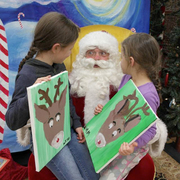 SPECIAL EVENTS, MEET AND PAINT WITH SANTA!!!