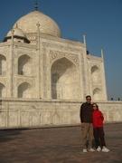 Pam & Joel at Taj Mahal 1998