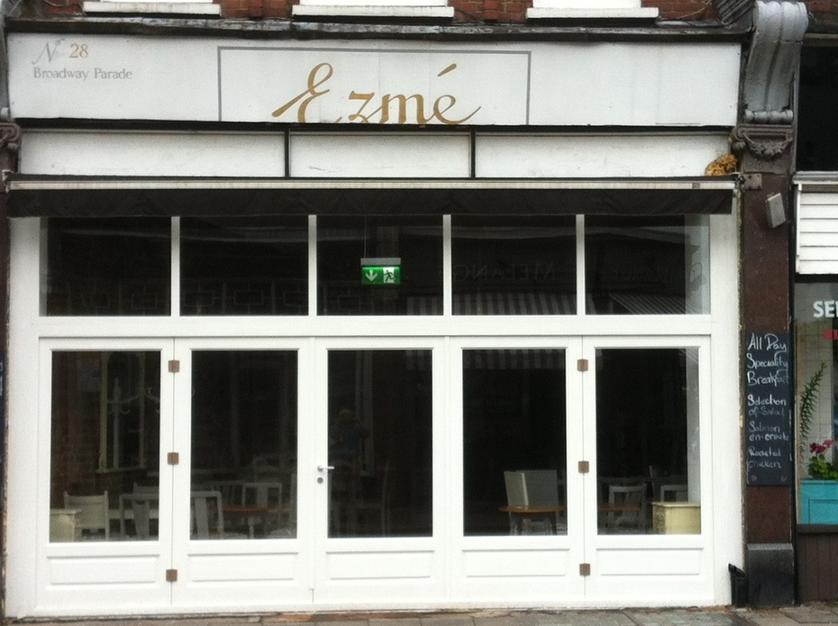 Ezme where Coffee Cake used to be