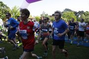 Alison and Peter Beale, Crouch End 10k 2014