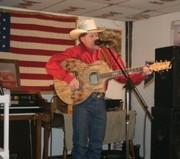 Layce singing @ VFW, Bouse, AZ