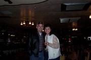 My beautiful wife Debbie & fan club president Brian Cotterman