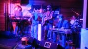 David Brendan Hunt playing the Monday night jam at Dan Mcguiness.