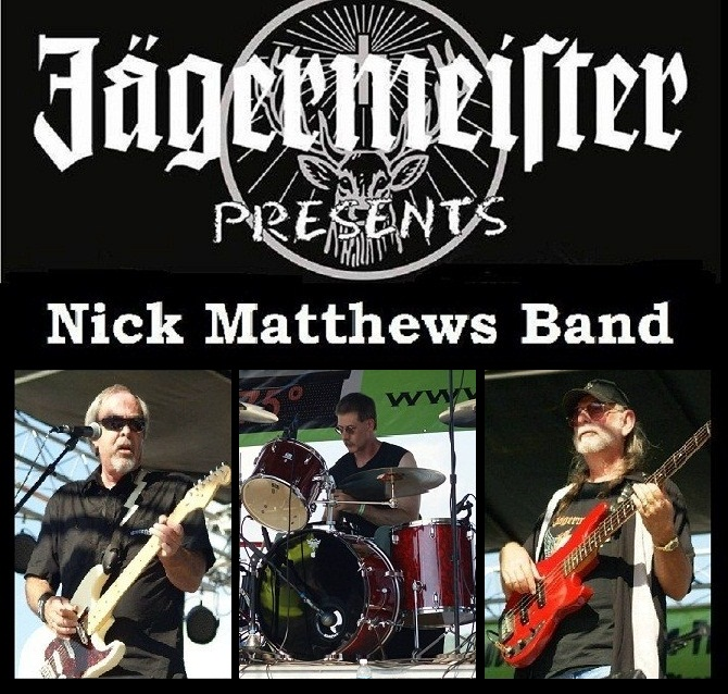 Jagermeister presents Nick Matthews Band