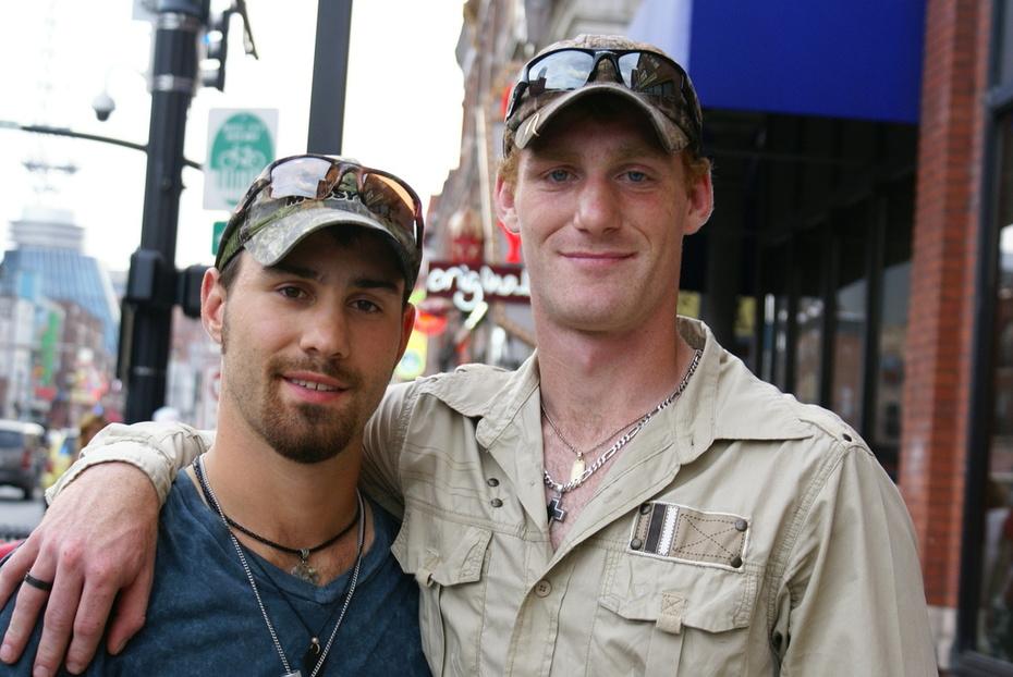 Mike Short Jr with Forrest Short
