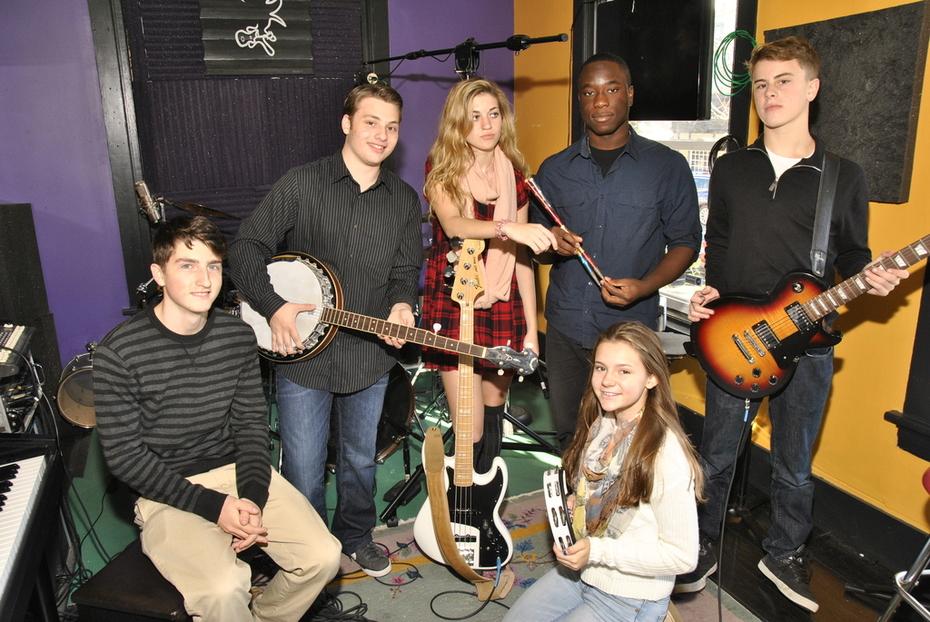 Jordan Green & The Good E'Nuffs in the Studio