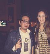 With Grammy award winning Musician