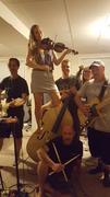 Danny Thompson Band Rehearsal