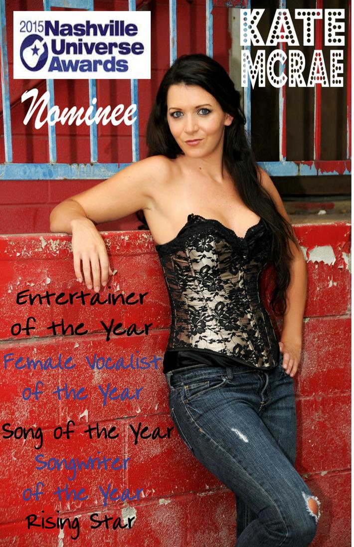Nashville Universe Nominations - Kate McRae