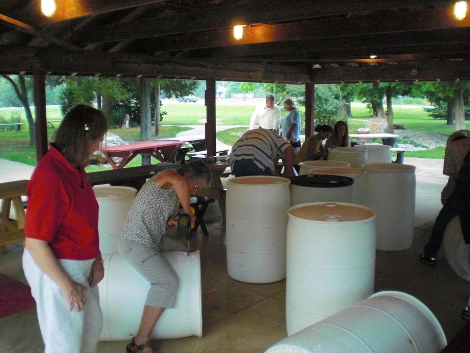 Rain Barrel Workshop in Medina