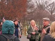 Tour guide at Arlington Cemetery, Allan Wallace.
