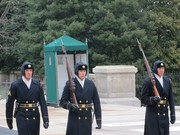 Tomb guards at The Tomb of the Unknown Soldier.