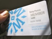 Our new WSR Membership card.