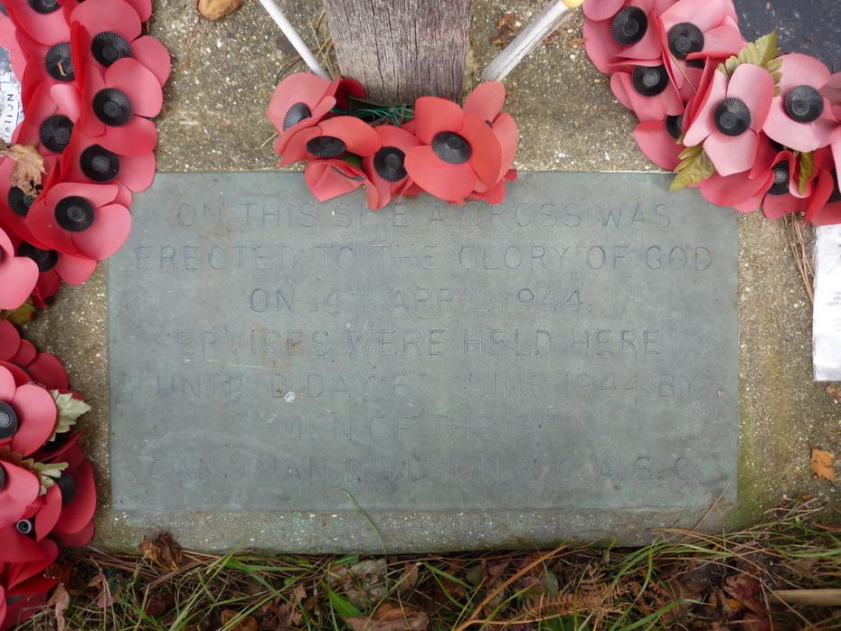 Canadian Memorial Stone to mark prayer site