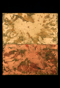 "Tabernaculum #5 (40""x36"") acrylic & pigment on canvas"