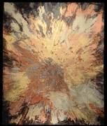 "Tabernaculum #14 (48""x40"") acrylic & raw pigment:canvas"